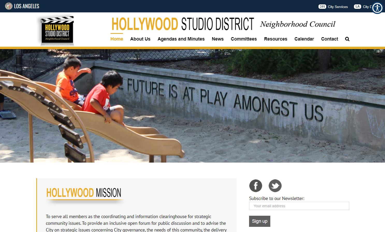 Hollywood Studio District website