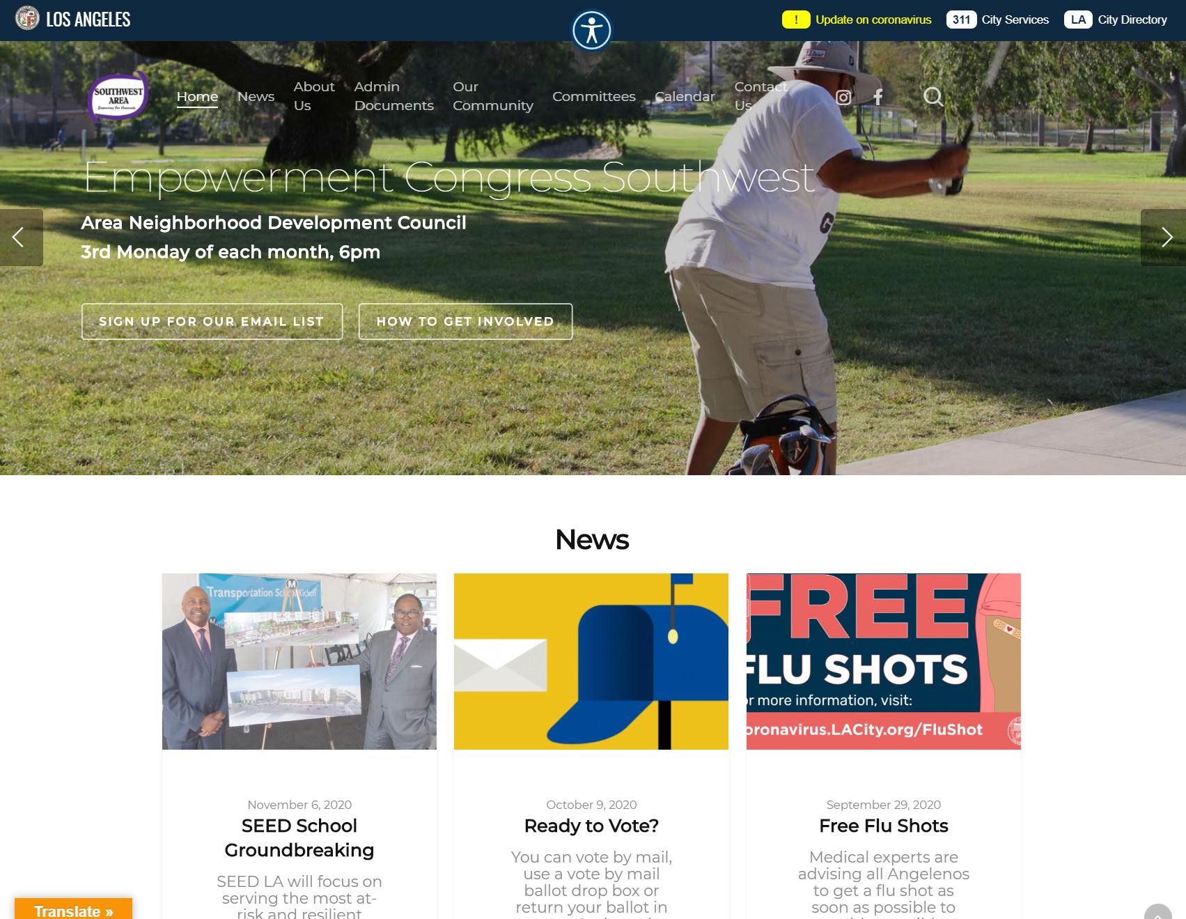 Southwestnc website