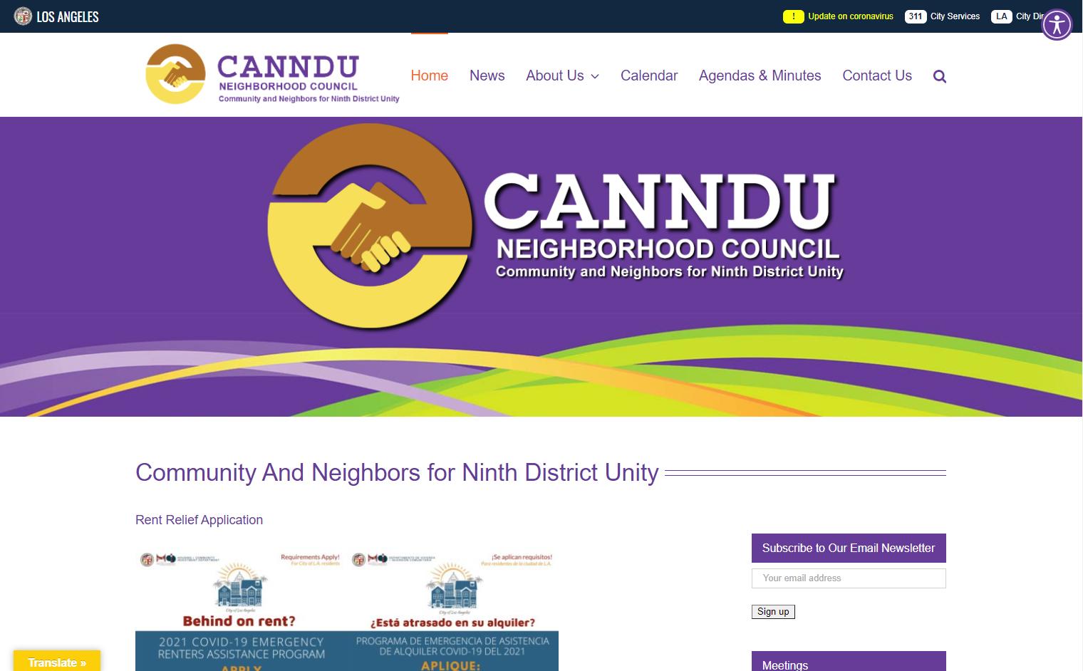 CANNDU Website