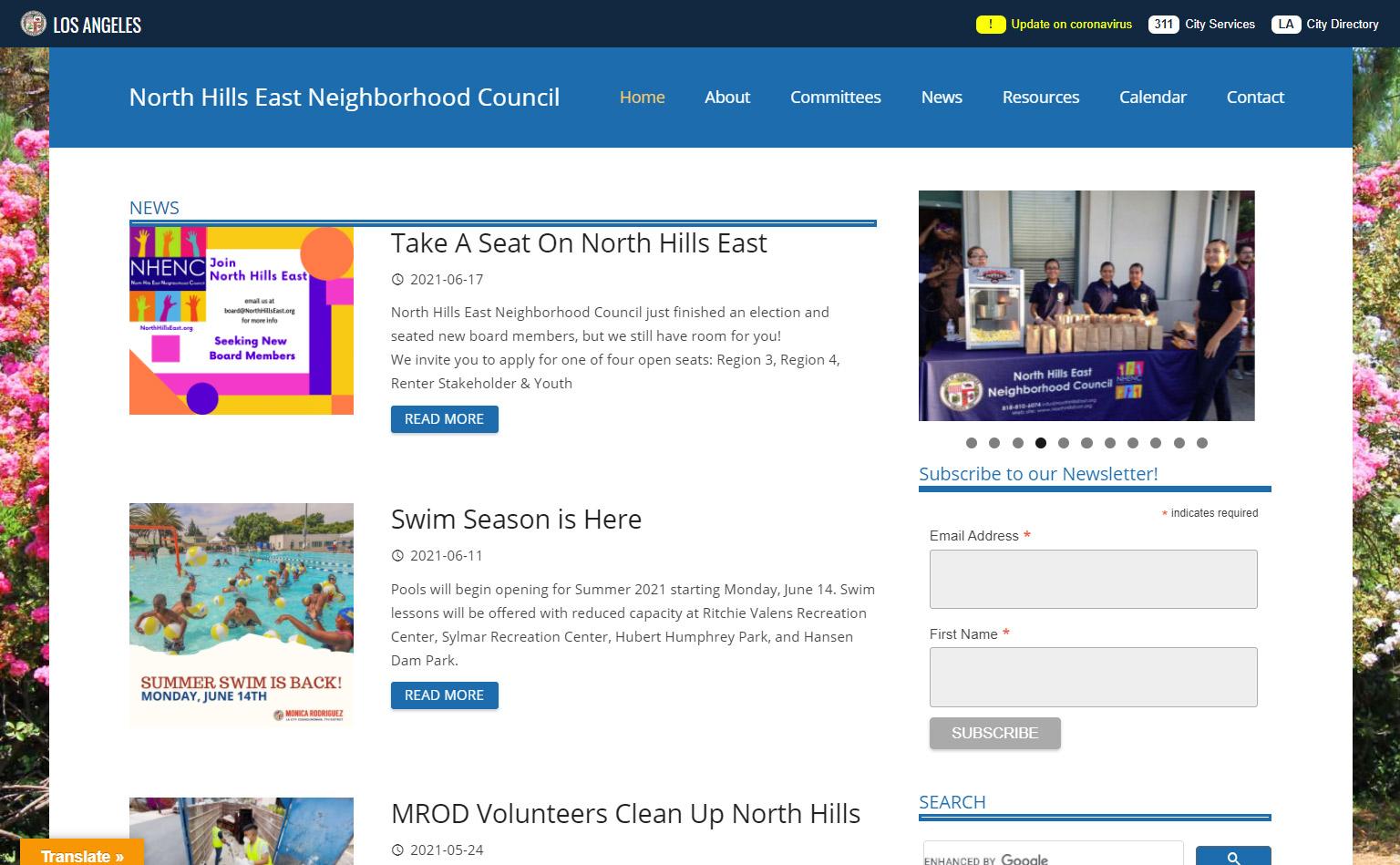 North Hills East Neighborhood Council