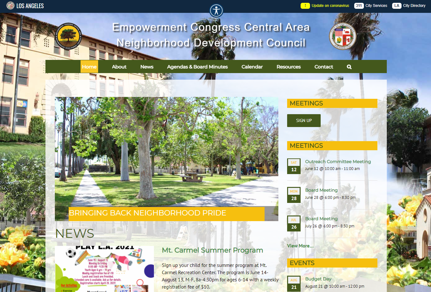 ECCANDC Homepage