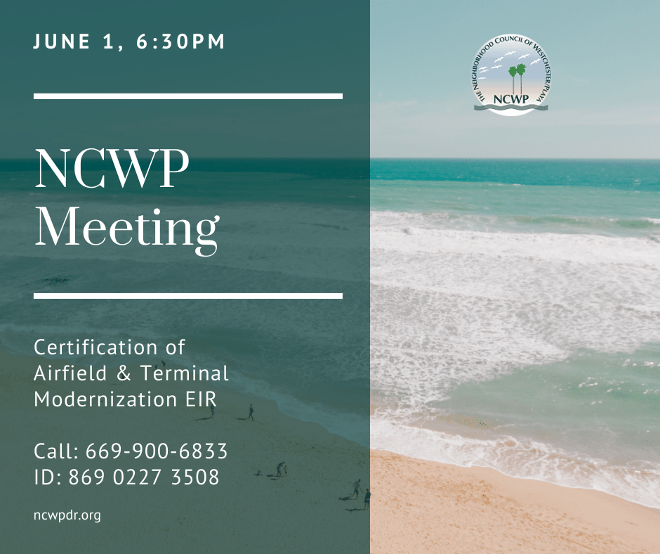 NCWP Meeting announcement