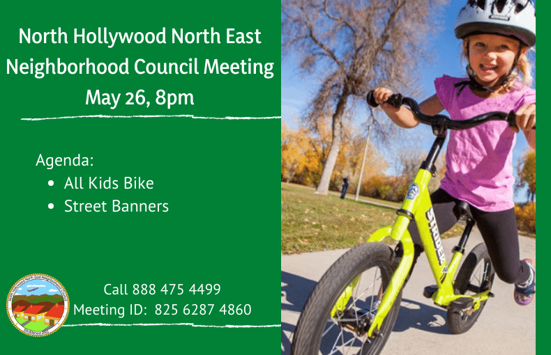 North Hollywood North East Neighborhood Council Meeting