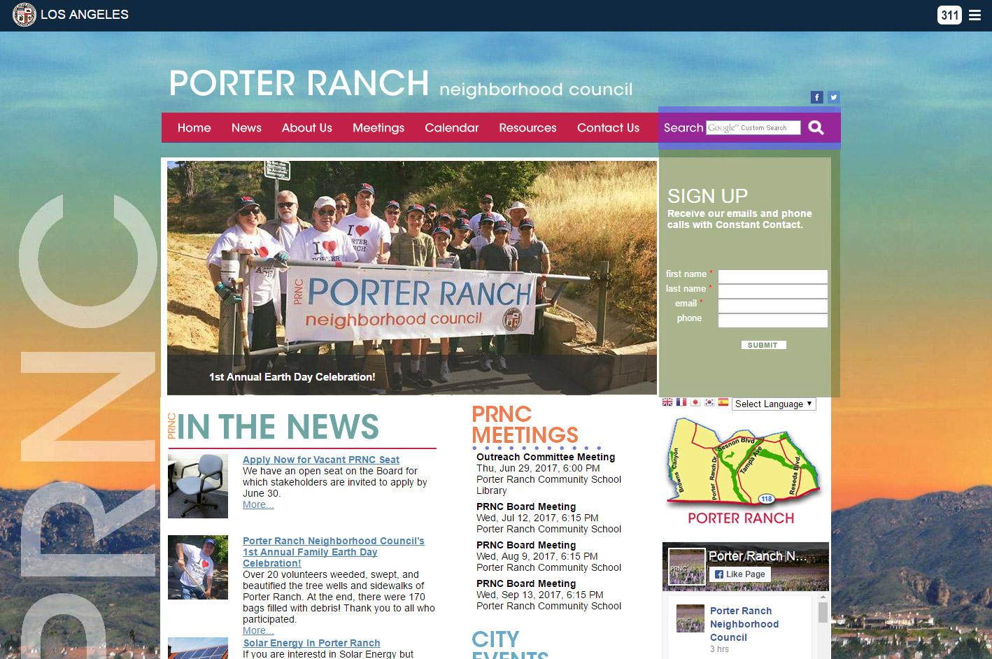 Porter Ranch Neighborhood Council