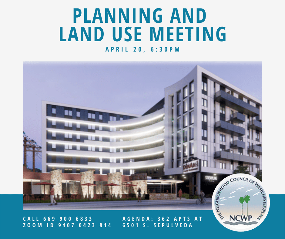 Planning and land use committee meeting